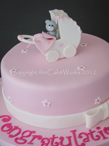 Cake idea for a baby shower party