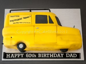 T.I.T van cake from Only Fools and Horses