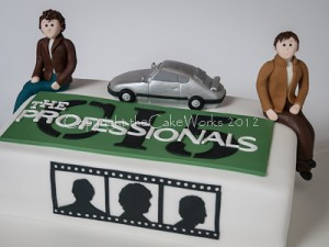 The Professionals birthday cake